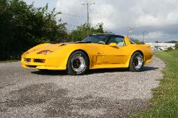 1980 Greenwood Corvette striped, reepaired and custom painted