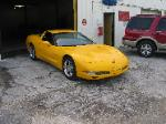 2000 Corvette finished - mouse over before repair