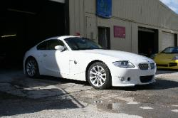 BMW Z4 custom bumpers