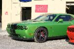 Green with Envy Challenger with custom grille
